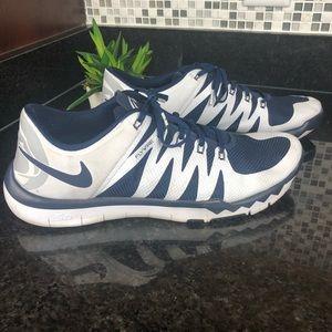 NIKE free tr 5.0 v6 penn state sneakers